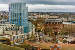 Centro de ciudad de Bristol Imagen de archivo libre de regalías