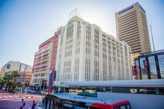 Centro de ciudad de Cape Town - Suráfrica Fotografía de archivo libre de regalías