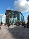 Centro de ciudad de Cardiff Imagen de archivo