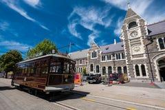 Centro de ciudad de Christchurch Imágenes de archivo libres de regalías