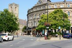 Centro de ciudad de Harrogate Imagen de archivo libre de regalías