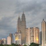 Centro de ciudad de Kuala Lumpur fotografía de archivo