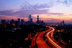 Centro de ciudad de Kuala Lumpur Foto de archivo