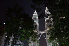 Centro de ciudad de Kuala Lumpur Imágenes de archivo libres de regalías