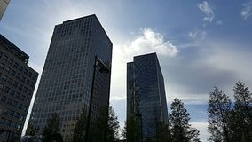 Centro de ciudad de Londres Imagenes de archivo