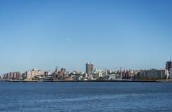 Centro de ciudad de Montevideo Foto de archivo