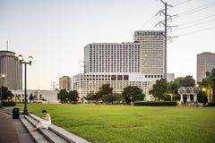 Centro de ciudad de New Orleans Fotos de archivo