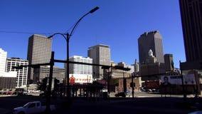 Centro de ciudad de New Orleans New Orleans Luisiana almacen de metraje de vídeo