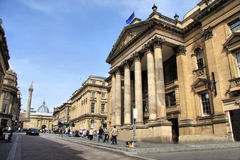 Centro de ciudad de Newcastle Foto de archivo