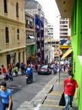 Centro de ciudad de Pablo del sao Imagenes de archivo