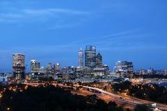 Centro de ciudad de Perth 1 Fotografía de archivo
