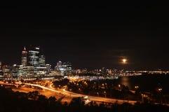 Centro de ciudad de Perth 4 Imagen de archivo libre de regalías