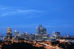 Centro de ciudad de Perth 3 Fotografía de archivo libre de regalías