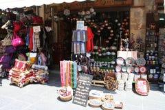 Centro de ciudad de Rhodos Fotografía de archivo libre de regalías