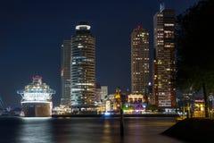 Centro de ciudad de Rotterdam Imágenes de archivo libres de regalías