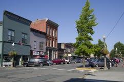Centro de ciudad de Snohomish Foto de archivo libre de regalías