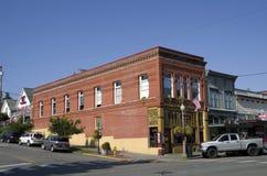 Centro de ciudad de Snohomish Fotografía de archivo libre de regalías