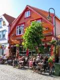 Centro de ciudad de Stavanger en Noruega Imagen de archivo