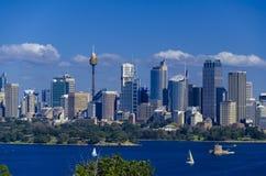 Centro de ciudad de Sydney Imágenes de archivo libres de regalías