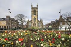 Centro de ciudad de Thurso, Escocia Fotografía de archivo