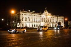 Centro de ciudad de Varsovia, Polonia imagen de archivo libre de regalías
