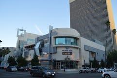 Centro de ciudad en la 6ta alameda Los Ángeles de Koreatown Imágenes de archivo libres de regalías