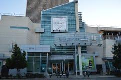 Centro de ciudad en la 6ta alameda Los Ángeles de Koreatown Foto de archivo