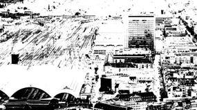 Centro de ciudad de Frankfurt-am-Main Fotografía de archivo libre de regalías