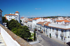Centro de ciudad histórico de Ãvora Fotografía de archivo