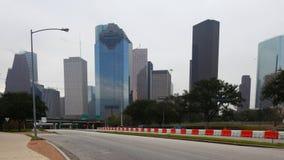 Centro de ciudad de Houston, Tejas, un timelapse ancho 4K almacen de video