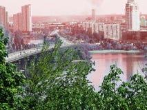Centro de ciudad de Kyiv Imagen de archivo