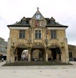 Centro de ciudad de Peterborough foto de archivo libre de regalías