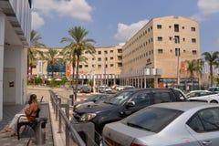 Centro de ciudad de Sederot, Israel, #1 Imagen de archivo libre de regalías