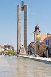 Centro de Cluj-Napoca Fotografía de archivo libre de regalías