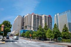 Centro de CNN en Atlanta el 10 de agosto de 2014 Imagen de archivo