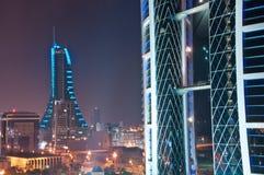 Centro de comercio mundial, Bahrein. Foto de archivo libre de regalías