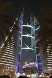 Centro de comercio mundial, Bahrein Imágenes de archivo libres de regalías