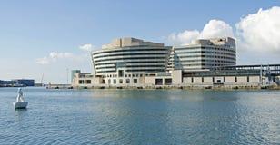 Centro de comercio mundial, Barcelona, España Imagen de archivo libre de regalías
