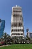 Centro de comercio mundial en Dubai Foto de archivo libre de regalías