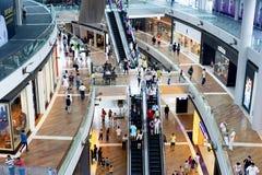 Centro de compra Imagens de Stock