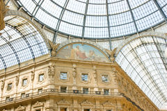 Centro de compra de Milão Foto de Stock