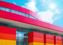 Centro de compra moderno Imagens de Stock