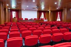 Centro de conferencia fotografía de archivo