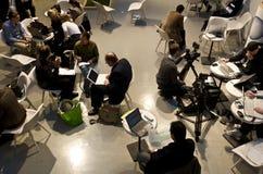 Centro de conferencias Foto de archivo libre de regalías