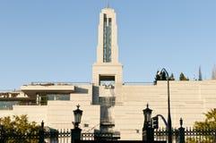 Centro de conferencias mormónico fotografía de archivo