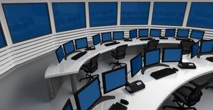 Centro de control imagen de archivo