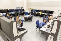 Centro de controle da autoridade de serviços do tráfico aéreo imagens de stock