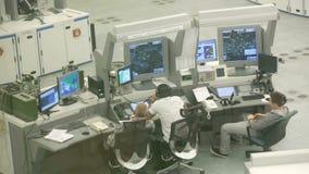 Centro de controle da autoridade de serviços do tráfico aéreo filme