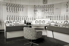Centro de controle em Ferropolis Fotos de Stock