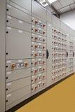 Centro de controle vertical de motores Foto de Stock Royalty Free